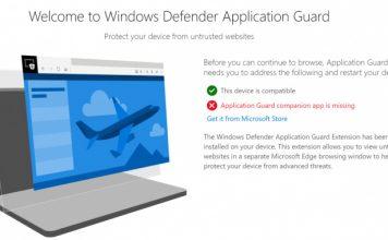 Microsoft Merilis Extensi Windows Defender Untuk Google Chrome dan Firefox
