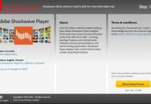 Shockwave Player Akan Dipensiunkan Pada 9 April 2019!