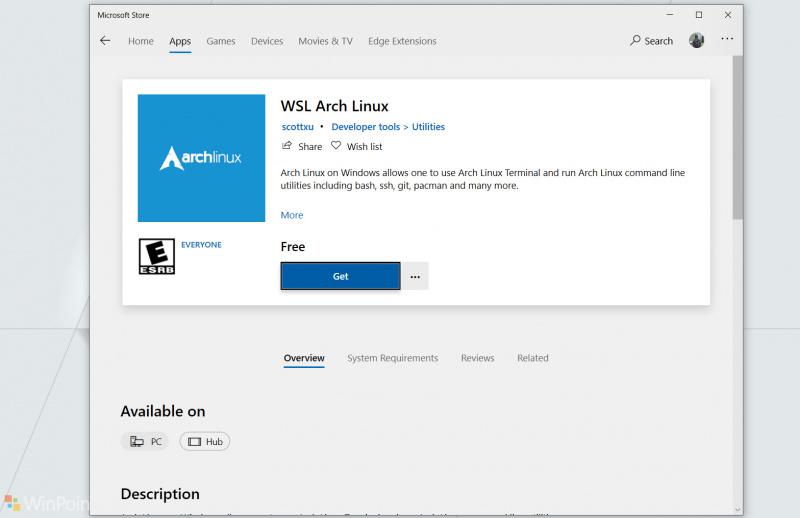 Distro Populer Arch Linux Sekarang Tersedia di Microsoft Store!