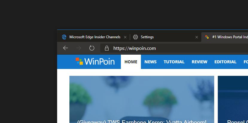 Microsoft Edge Dev 76.0.159.0 Dirilis Dengan Fitur Baru!