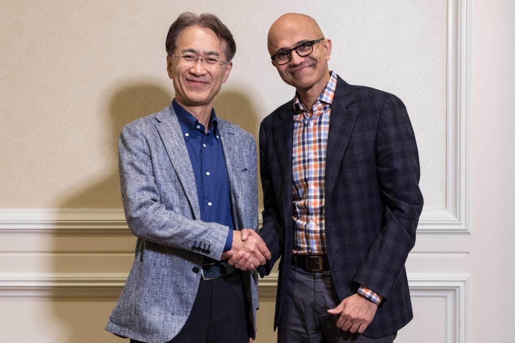 Microsoft dan Sony Akan Bekerja Sama Untuk Usaha Cloud Gaming Dimasa Depan Microsoft dan Sony Akan Bekerja Sama Untuk Usaha Cloud Gaming Dimasa Depan!