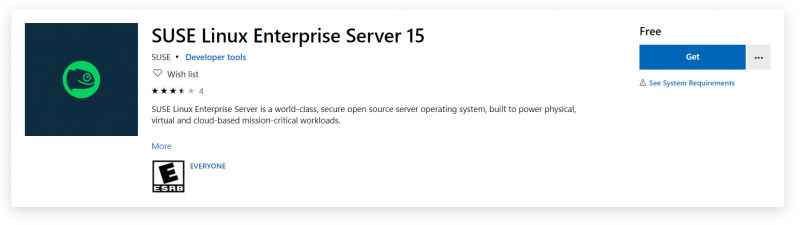 SUSE Linux Enterprise Server 15