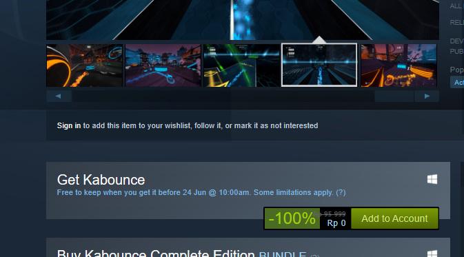 ialah banyaknya diskon dan bahkan game yang digratiskan Cepat! Game Multiplayer Pinball Kabounce Masih Gratis di Steam – Claim Sekarang!