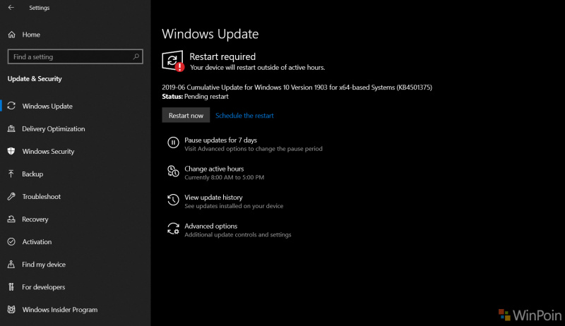 Cumulative Update Selanjutnya Akan Bawa Perbaikan Night Light di Windows 10 May 2019!
