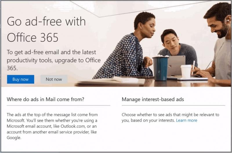 Microsoft Dikabarkan Bawa Iklan Ke Aplikasi Outlook Untuk Android?!