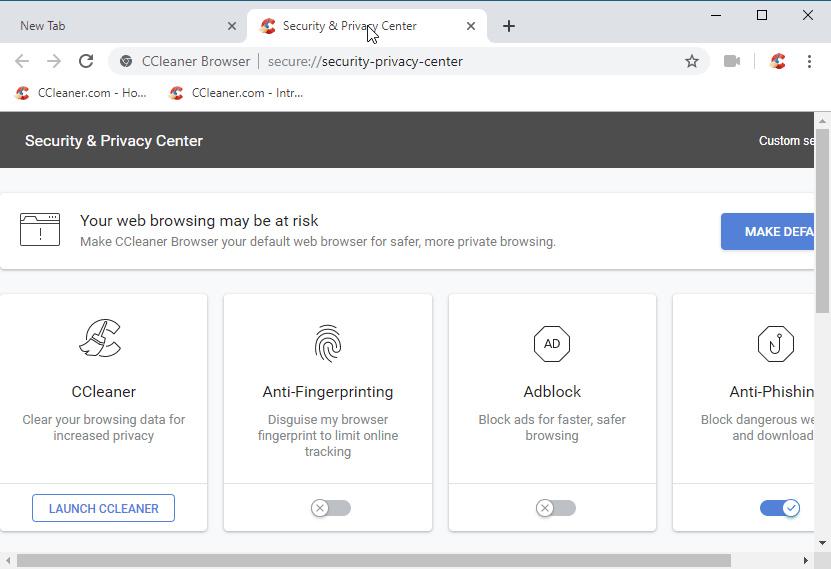 Piriform Luncurkan Browser CCleaner! Link Download Tersedia!