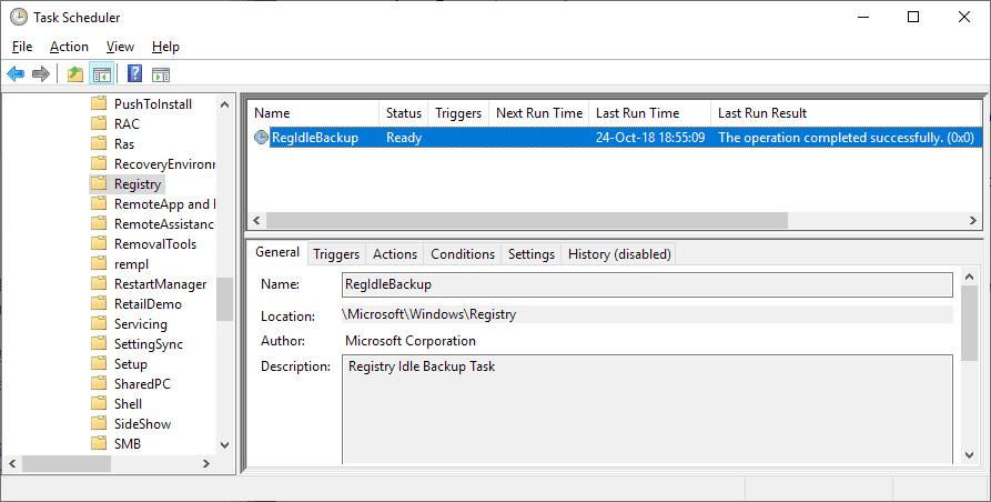 Registry System Windows 10 Tidak Dibackup adalah Fitur? ini kata Microsoft.