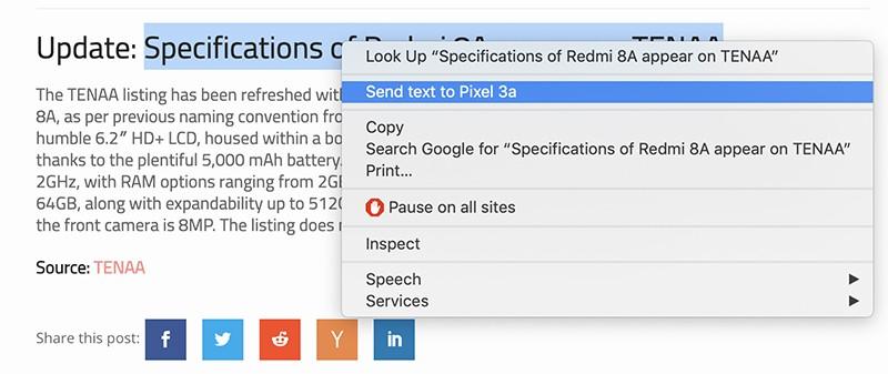 Google Chrome Dapatkan Fitur Shared Clipboard Untuk Android dan PC!
