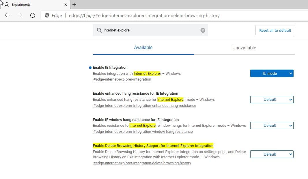 Cara Hapus Browsing Data Mode Internet Explorer Di Microsoft Edge Chromium Winpoin