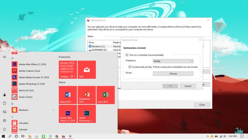 Cara Mematikan Defrag Otomatis Di Windows 10 Winpoin