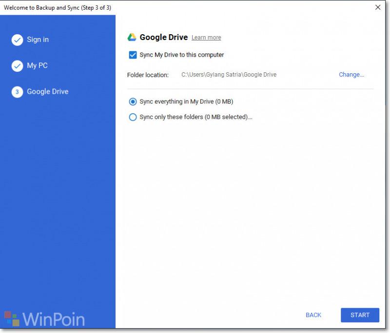 Cara Menambahkan Google Drive Pada Halaman Navigation Pane Di File Explorer Windows 10 Winpoin