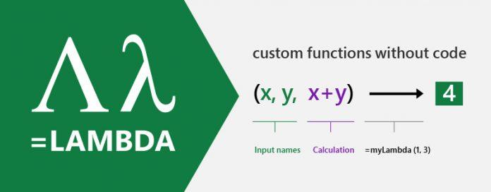 Microsoft Excel Perkenalkan Fungsi LAMBDA